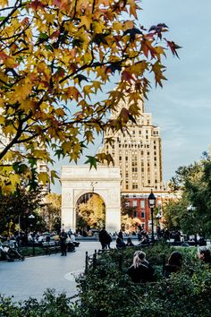 ღღ Washington Square Park by NYU@nyuniversity