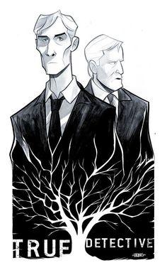 True Detective - poster - Thobias Daneluz