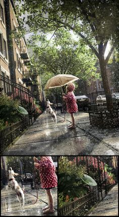 Summer rain in the city by Marcin Jastrzebski