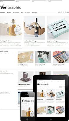 Free WP Theme | Serigraphic Responsive Theme | WordPress Themes Free & Premium Grid Based | Dessign