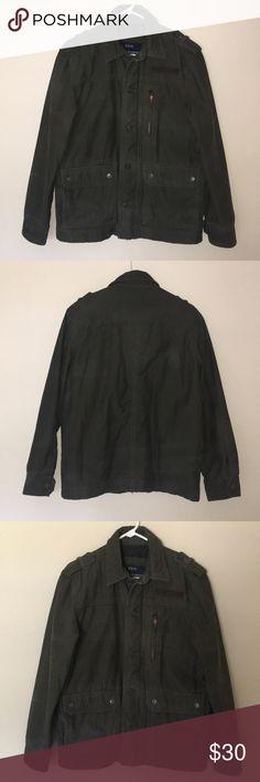 59c0d5a24a4bec American Eagle Military Jacket American Eagle Outfitters Military Jacket  Has zipper
