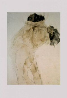 Auguste Rodin Two Embracing Figures Graphite with grey and yellowish-brown wash on white wove paper Ashmolean Museum Auguste Rodin, Pierre Auguste Renoir, Rodin Drawing, Painting & Drawing, Life Drawing, Figure Drawing, Figurative Kunst, Art Watercolor, Art Sculpture