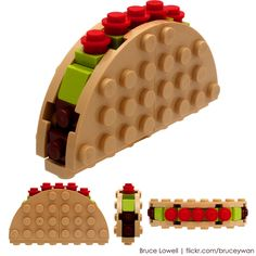 Block-o Taco  Finally took some decent pictures of this MOC from May 2010.