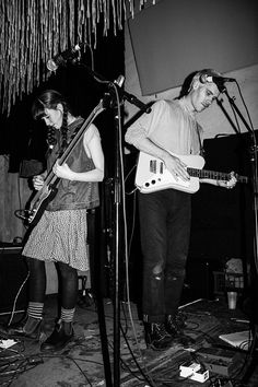 Ever wonder how to make it in love or how to make it in the music biz?  Well the leads in PORCHES. and Frankie Cosmos are going for both and they're doing it together but at the same time, apart. Click for more. SHKmag.com