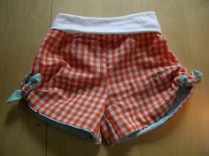 knot shorts. in gingham.  I could die.