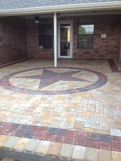Interlocking paver patio installed by Precision Pavers in Plano,TX.