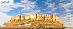 Mehrangarh Fort Jaipur http://www.godelhi.net/ #RajasthanTour , #TourRajasthan
