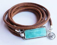 Statement bracelet Huge brilliant blue by ChickpeaDesignStudio, $99.00