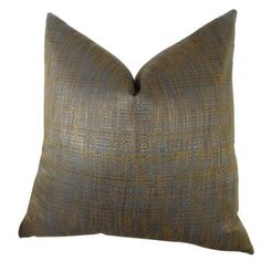 Plutus Clonamore Handmade Throw Pillow, Double Sided, Multicolor