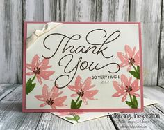 Gathering Inkspiration: Stampin' Up! Thank You So Very Much meets Avant Ga...