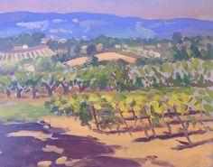 Near Goult, Provence - Rod Major