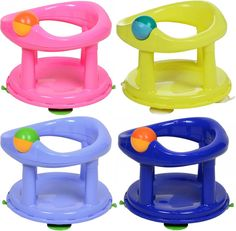 The Safety 1st Swivel Bath Seat Allows Your Baby To Sit In With Extra