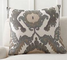 Hudson Ikat Pillow Cover #potterybarn