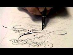 Handwriting/Lettering Max Goldt's L'Eglise des Crocodiles