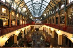 Covent Garden, London, built in 1830 and still going strong