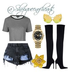 """""""COACHELLA"""" by marquiataylor7 on Polyvore featuring Alexander Wang, Topshop, Zara and Rolex"""