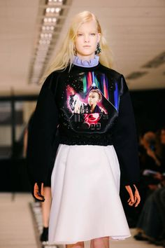 Balenciaga made the world realize luxury and sweatshirt could go hand-in-hand (as seen on the Fall '12 runway)