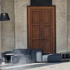 #audicitylab, Extra Wall sofa design Piero Lissoni Sofa Design, Tall Cabinet Storage, Wall, Furniture, Home Decor, Decoration Home, Room Decor, Walls, Home Furnishings
