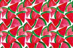 watermelons textiles