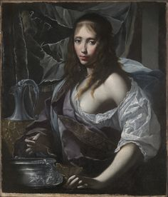 Artemisia Prepares to Drink the Ashes of her Husband, Mausolus (c.1630) by Francesco Furini