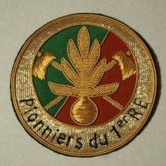 フランス陸軍旧第1外国連隊エンブレム