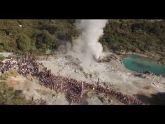 2015 Tarawera Trail Marathon and 50k run and walk - YouTube