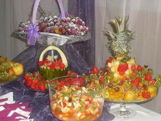 Frutas, salada de frutas.
