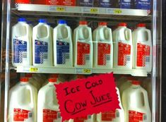 You will find some of the finest marketing examples in this post. Examples which are not only useful but are also bound to make you laugh or smile too! It's nice to see that creativity can found be anywhere and everywhere!Enjoy the funniest grocery store signs created by creative souls!