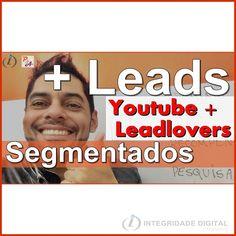 """YouTube + Leadlovers + Leads Segmentados + Inscritos   em seu canal em uma única jogada... é possível?    Para assistir e aprender aplicar as etapas acesse o youtube  pesquise por    """" YouTube + Leadlovers + Leads Segmentados + Inscritos no canal  """""""