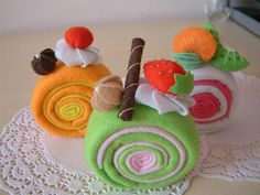 felt cake-cute! by fairyfox, via Flickr