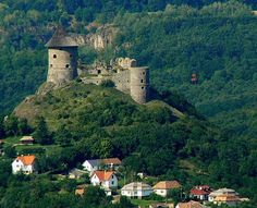 Slovakia, Šomoška - Castle Germany Poland, Visit Prague, Church Building, Beautiful Places In The World, Central Europe, Bratislava, Slovenia, Czech Republic, Southeast Asia