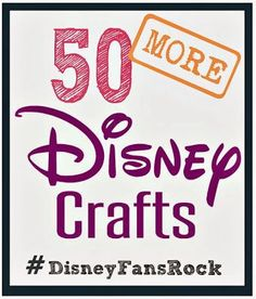 Disney Craft Ideas at Crafting in the Rain...Dress up, food, toys and more!