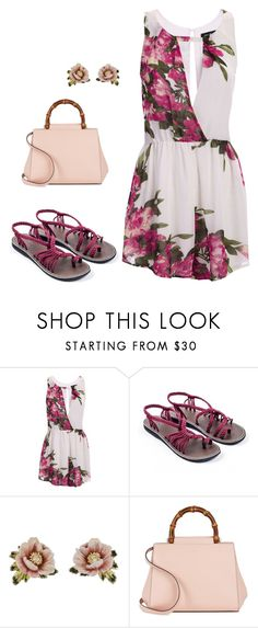"""""""Spring on my mind"""" by plaka-sandals ❤ liked on Polyvore featuring Les Néréides and Gucci"""