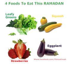 4 Foods To Eat This Ramadan