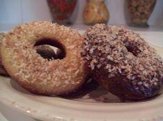 Paleo Coconut flour donuts..