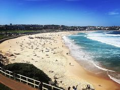 (Loc) Posted on May 27 2016 at 07:58PM: This is Bondi Beach baby!!  #Australia #NewSouthWales #Sydney #BondiBeach #MyTrip #BeautifulExperience #WhatAPlace #Au #NSW #Sy #Sun #Beach #Sea #Surf #Surfer #WithTheFamily #MumAndDad #Laro by stefanolaro