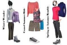 Cute hiking outfits: Outfits to take you from the hill to the pub - packing for the journey
