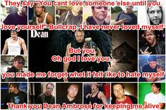 I actually cried making this.  my heart hurts  #DeanAmbrose #ThankYouAmbrose #MyEdit #IAmStrongBecuseOfDean