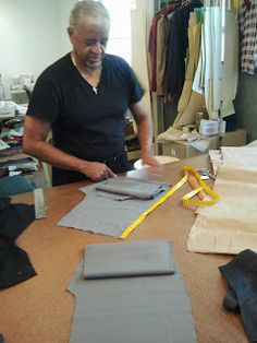 The Lost Art of Fine Tailoring: Tailor's Tip: Making a Quick Partial Pants Lining