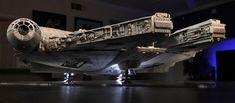 My Bandai Perfect Grade Millennium Falcon -finished! Leia Star Wars, Star Wars Boba Fett, Star Wars Clone Wars, Star Wars Art, Star Trek, Millennium Falcon Model, Perfect Grade, Star Wars The Old, Star Wars Models