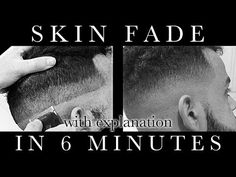 YOU WON'T MESS UP this haircut with these easy techniques! Just 6 minutes and you'll learn to give a perfect skin fade.