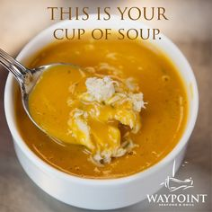 Perfect for a cool day!    www.waypointgrill.com