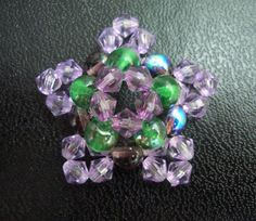 FREE Pattern - RAW Beaded Pendant featured in Bead-Patterns.com Newsletter!