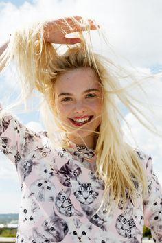 sfilate: Elle Fanning for Asos Magazine, July 2014