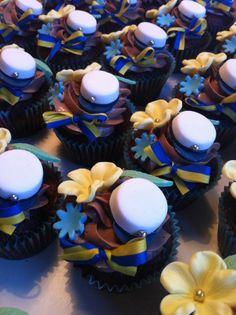 40 best ideas for party graduation decorations food ideas Fondant Bow, Fondant Cakes, Fondant Flowers, Fondant Figures Tutorial, Cake Tutorial, Chocolate Chip Recipes, Baking Chocolate, Chocolate Fondant, Chocolate Chips