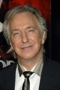 """December 3, 2007 -- Alan Rickman at the NY Premiere of """"Sweeney Todd: The Demon Barber of Fleet Street"""" at the Ziegfeld Theater."""