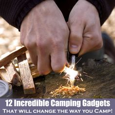 A list of 12 BRILLIANT camping gadgets that are going to change your life and the way you camp! From the super useful, to the life saving, to the comfort givers! Check 'em out: www.coolgadge.com/camping-gadgets.html | #Camping #Gadgets - Via @coolgadge