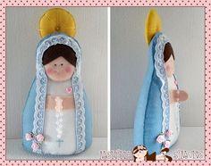 Nossa Senhora (Mãezinha do Céu)em Feltro