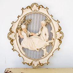 Vintage Boudoir Framed Art...