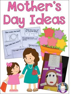 Tons of fun, low-prep Mother's Day ideas for teachers to do in the classroom. I love al the writing extensions!